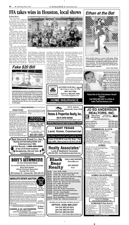 Cherokeean Herald (Rusk, Tex ), Vol  160, No  11, Ed  1