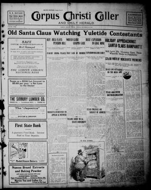 Corpus Christi Caller and Daily Herald (Corpus Christi, Tex.), Vol. 13, No. 15, Ed. 1, Sunday, December 10, 1911
