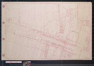 Primary view of object titled '[Map of Hitchcock subdivisions: Oak Ridge, Burgess, Palmetto, etc.]'.