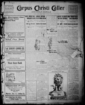 Corpus Christi Caller and Daily Herald (Corpus Christi, Tex.), Vol. 13, No. 33, Ed. 1, Tuesday, January 2, 1912