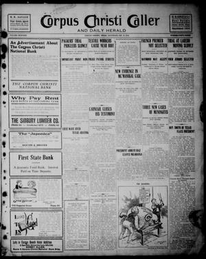 Corpus Christi Caller and Daily Herald (Corpus Christi, Tex.), Vol. THIRTEEN, No. FORTY THREE, Ed. 1, Saturday, January 13, 1912