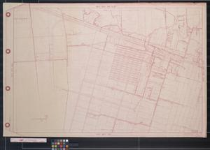 Primary view of object titled '[Map of Hitchcock subdivisions: West Neville, S. McArthur, Stewart, Schiro]'.