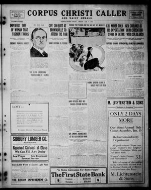 Corpus Christi Caller and Daily Herald (Corpus Christi, Tex.), Vol. SIXTEEN, No. 27, Ed. 1, Friday, January 9, 1914