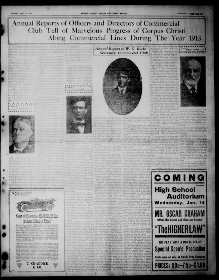Corpus Christi Caller and Daily Herald (Corpus Christi, Tex.), Vol ...