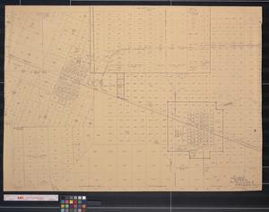 Primary view of object titled '[Map of Alta Loma and Arcadia]'.