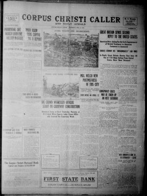 Corpus Christi Caller and Daily Herald (Corpus Christi, Tex.), Vol. SEVENTEEN, No. 64, Ed. 1, Thursday, February 18, 1915