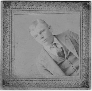 Primary view of object titled '[A portrait of Bob Wedell]'.