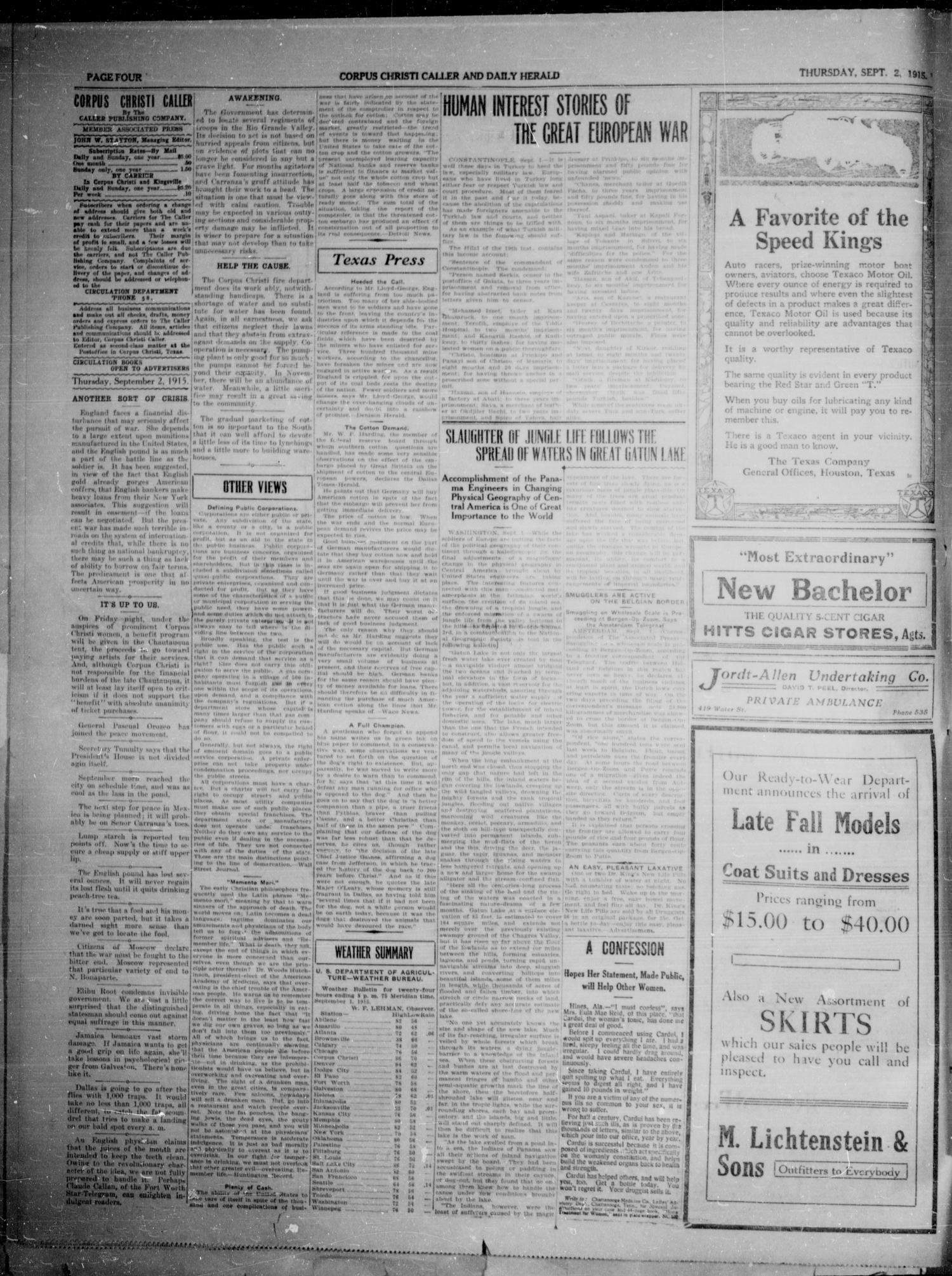 Corpus Christi Caller and Daily Herald (Corpus Christi, Tex