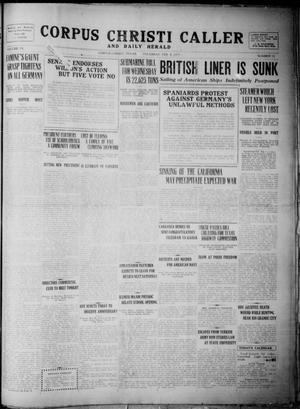 Primary view of Corpus Christi Caller and Daily Herald (Corpus Christi, Tex.), Vol. 19, No. 53, Ed. 1, Thursday, February 8, 1917