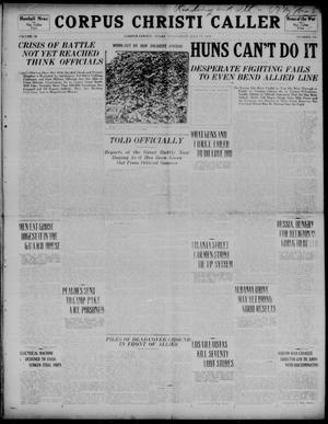Corpus Christi Caller (Corpus Christi, Tex.), Vol. 20, No. 199, Ed. 1, Wednesday, July 17, 1918