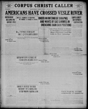 Corpus Christi Caller (Corpus Christi, Tex.), Vol. 20, No. 218, Ed. 1, Thursday, August 8, 1918