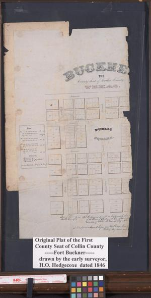 Primary view of object titled 'Buckner, The County Seat of Collin County Texas'.