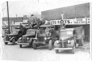 McKinney Junk Company, Spencer Smith Wrecking Yard, 1940