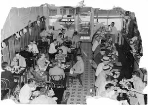 Wood's Cafe, early 1940's, McKinney