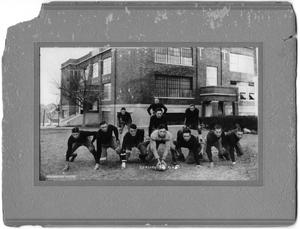 Primary view of object titled 'McKinney High School Football Team 1924'.