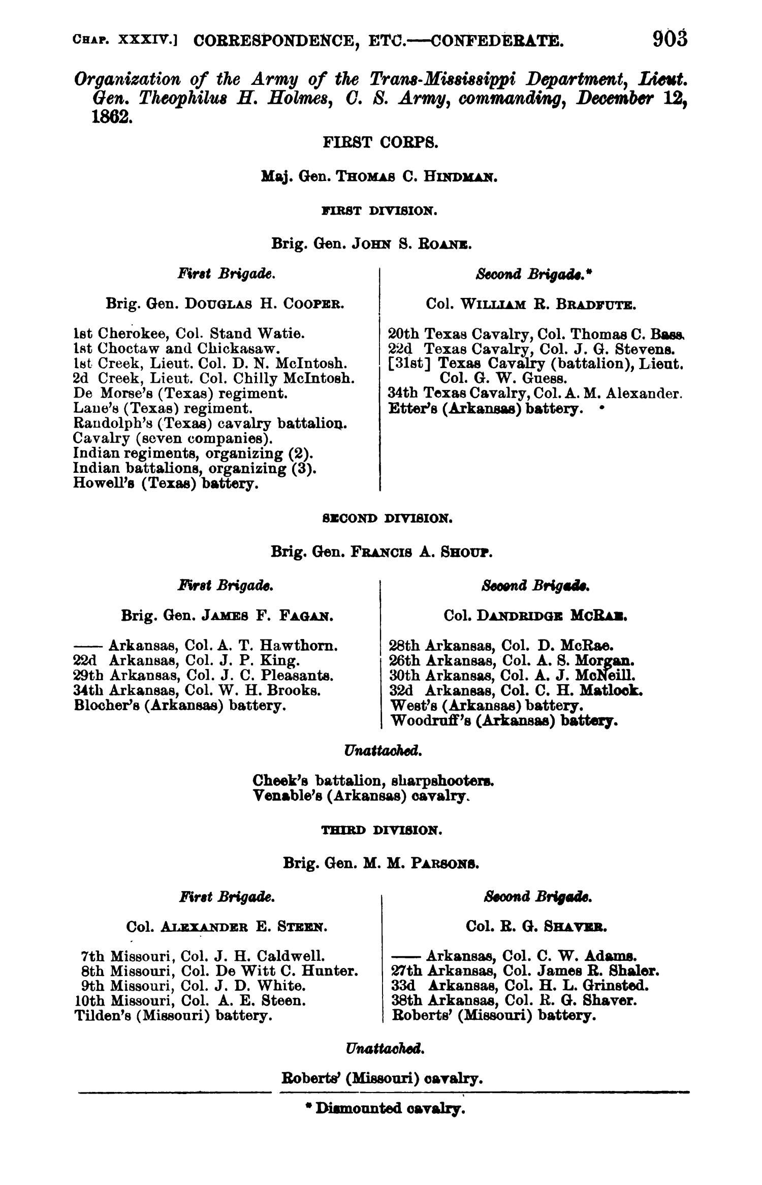 The War of the Rebellion: A Compilation of the Official Records of the Union And Confederate Armies. Series 1, Volume 22, In Two Parts. Part 1, Reports.                                                                                                      903