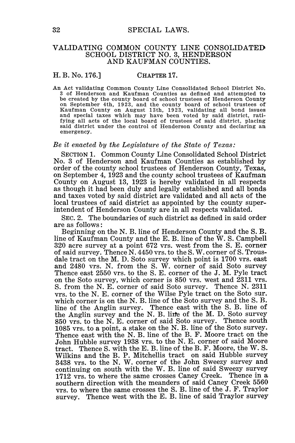 The Laws of Texas, 1925 [Volume 23]                                                                                                      [Sequence #]: 44 of 822