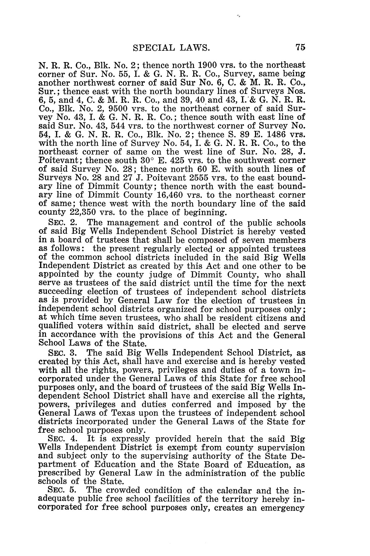 The Laws of Texas, 1925 [Volume 23]                                                                                                      [Sequence #]: 87 of 822