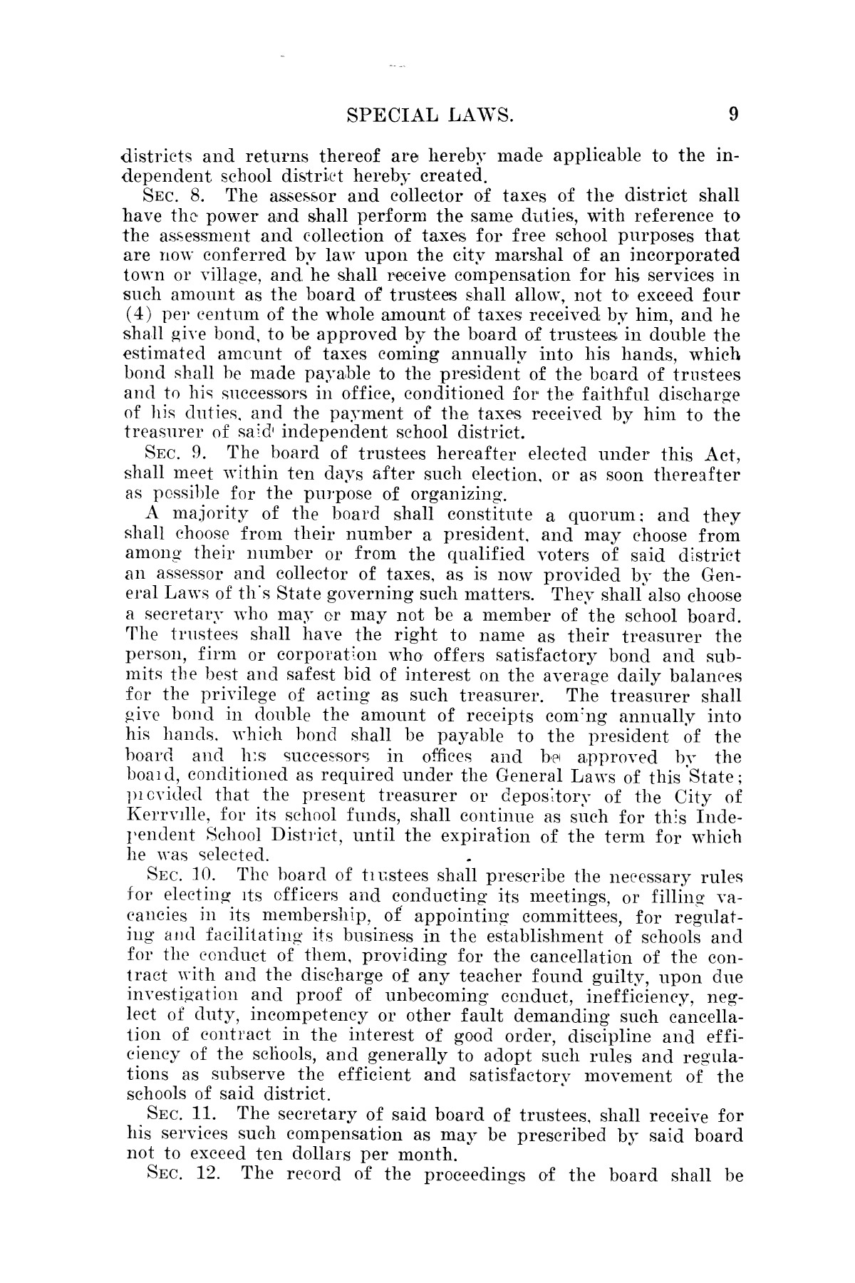 The Laws of Texas, 1923-1925 [Volume 22]                                                                                                      [Sequence #]: 19 of 1648