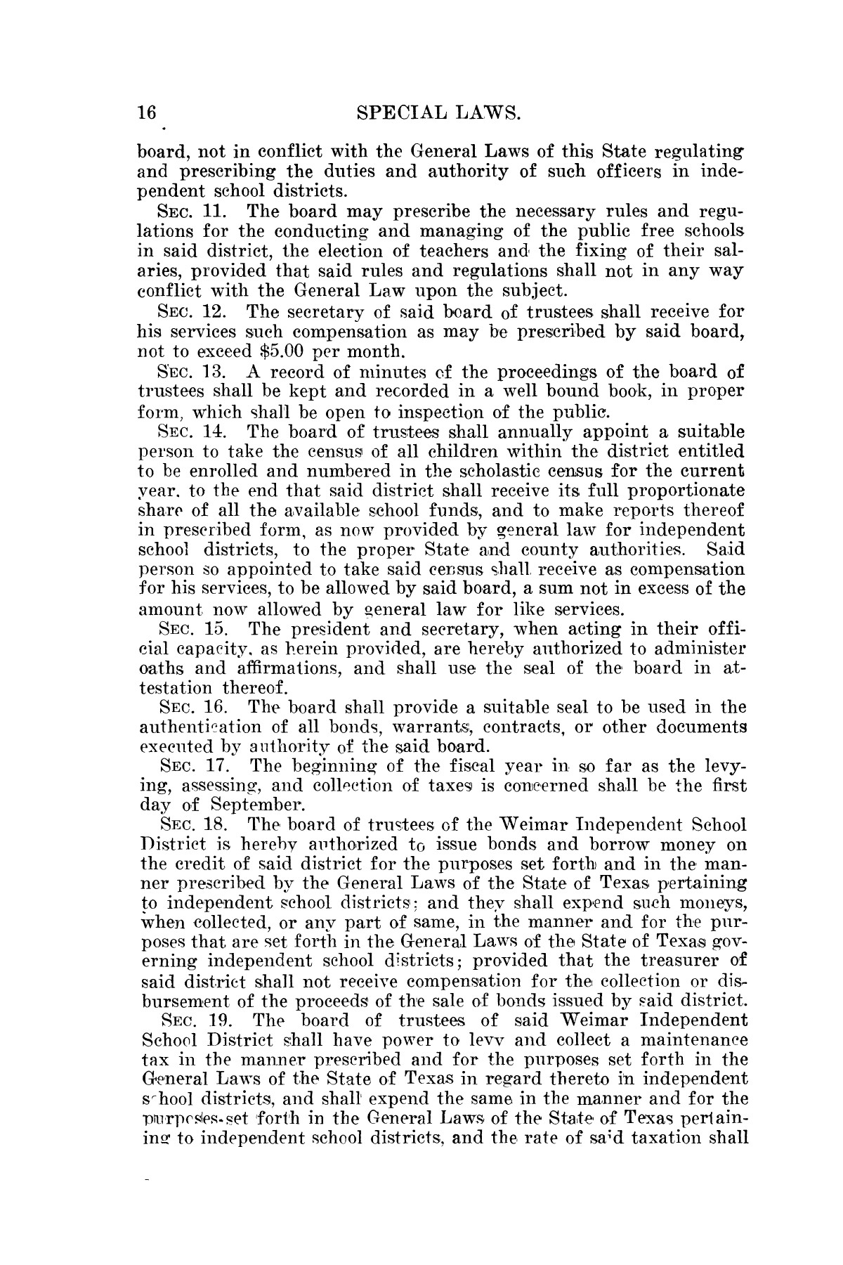 The Laws of Texas, 1923-1925 [Volume 22]                                                                                                      [Sequence #]: 26 of 1648