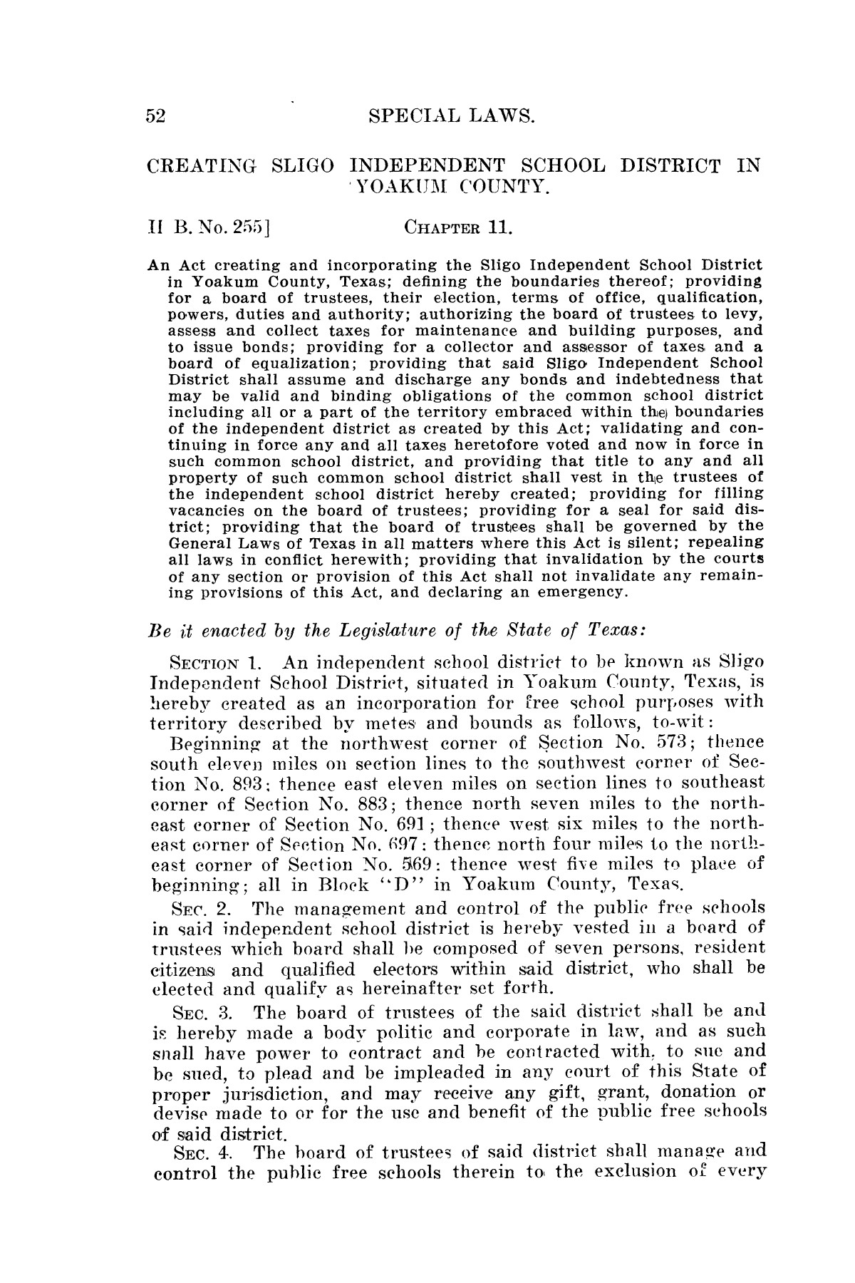 The Laws of Texas, 1923-1925 [Volume 22]                                                                                                      [Sequence #]: 62 of 1648