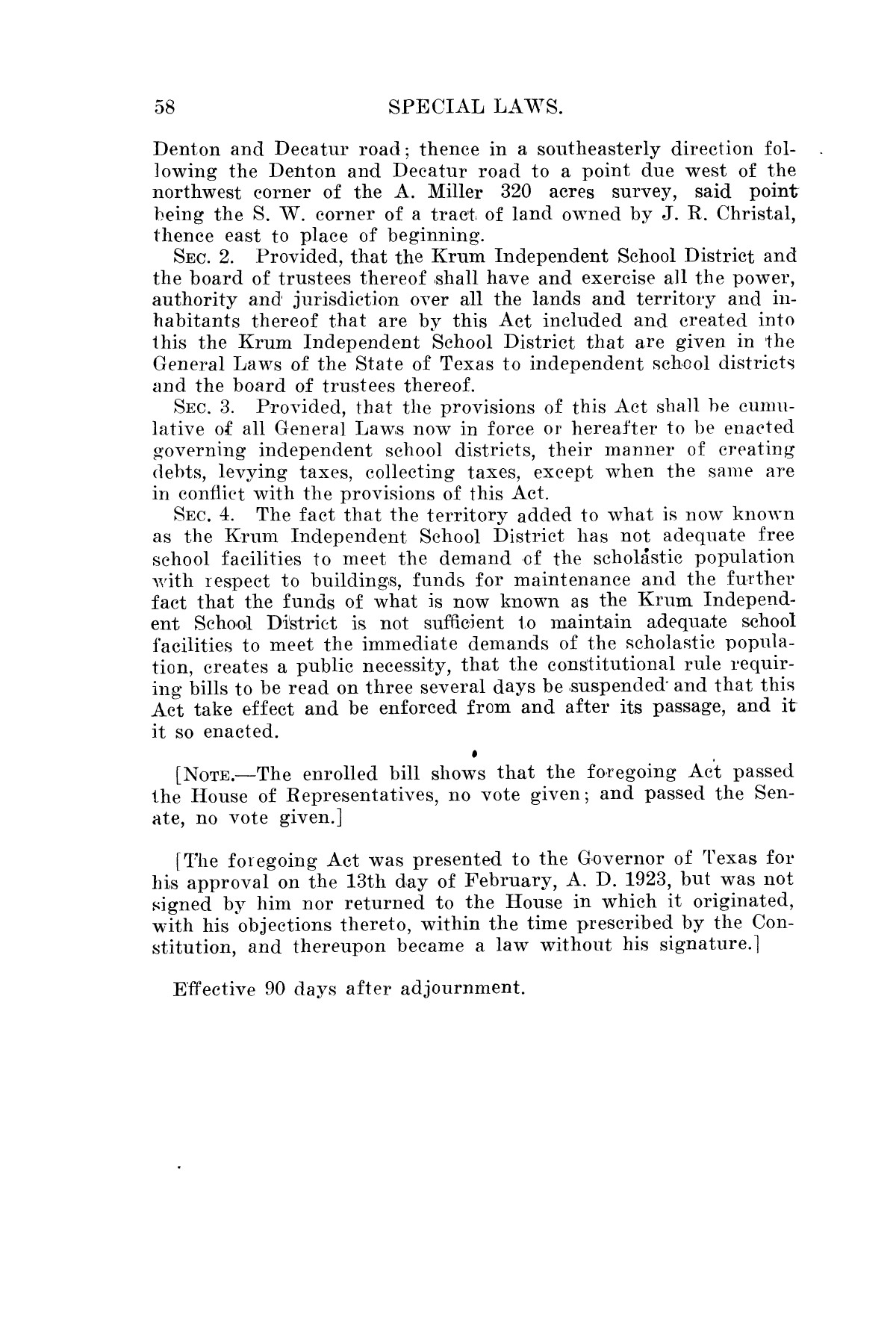 The Laws of Texas, 1923-1925 [Volume 22]                                                                                                      [Sequence #]: 68 of 1648