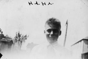 "Primary view of object titled '[Raymond Moers, ""Ha.Ha.""]'."