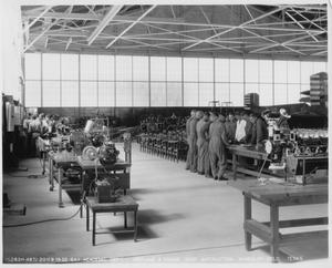 Primary view of object titled 'Academic Dep't. - Airplane & Engine Shop Instruction, Randolph Field, Texas'.