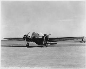 Primary view of object titled 'B12 Bomber (parked)'.