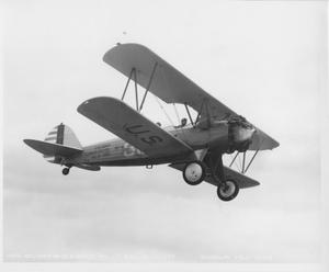 Primary view of object titled 'BT-6 in Flight'.
