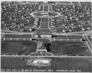 Primary view of object titled 'Cadet Area Randolph Field Tex.'.