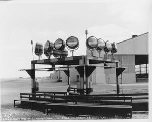 "Primary view of object titled 'Landing Lights - ""A"" Stage'."