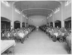 Primary view of object titled 'Cadets at the Mess Hall'.