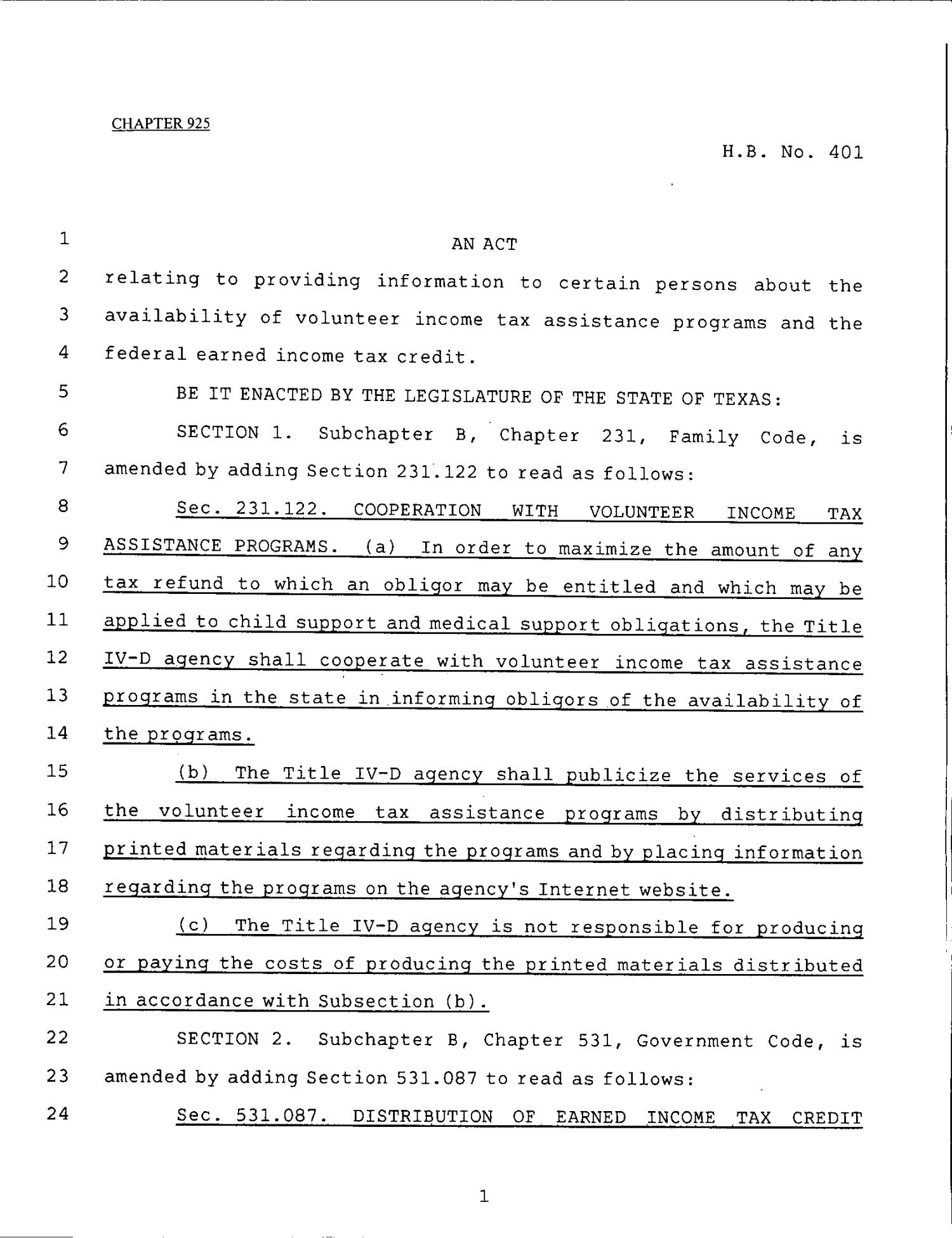 79th Texas Legislature, Regular Session, House Bill 401, Chapter 925                                                                                                      [Sequence #]: 1 of 4