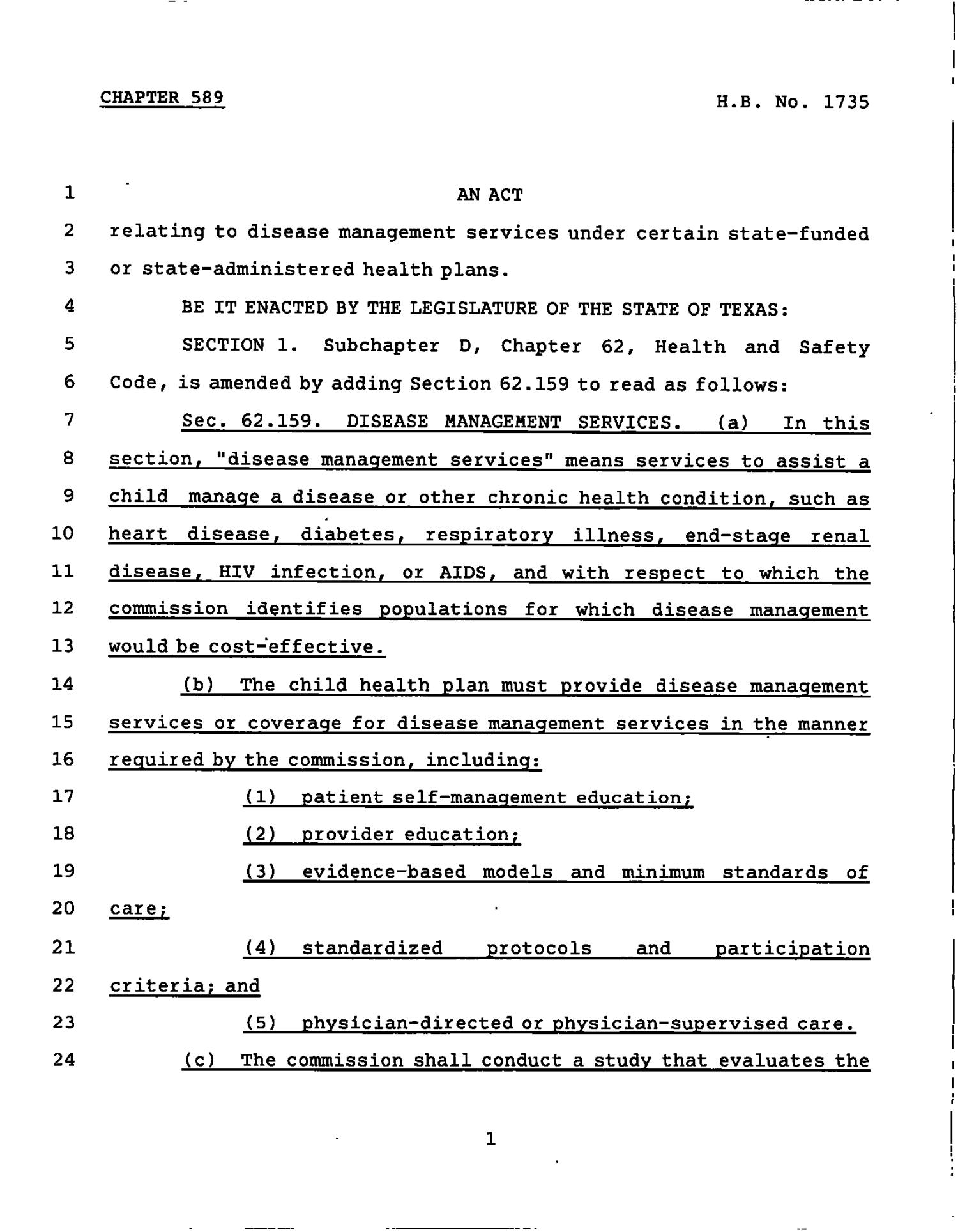 78th Texas Legislature, Regular Session, House Bill 1735, Chapter 589                                                                                                      [Sequence #]: 1 of 11