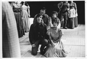 Drama Students Singing in a Drama Scene