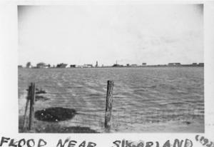 "Primary view of object titled '[""Flood Near Sugarland (1922)""]'."