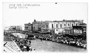 Primary view of object titled 'Fourth of July Celebration'.