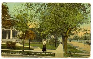 Primary view of object titled 'West Sixth and Davis Streets'.