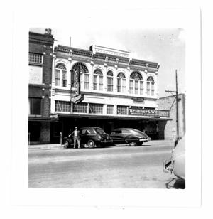 Primary view of object titled 'Brunner & Williams Drugstore'.