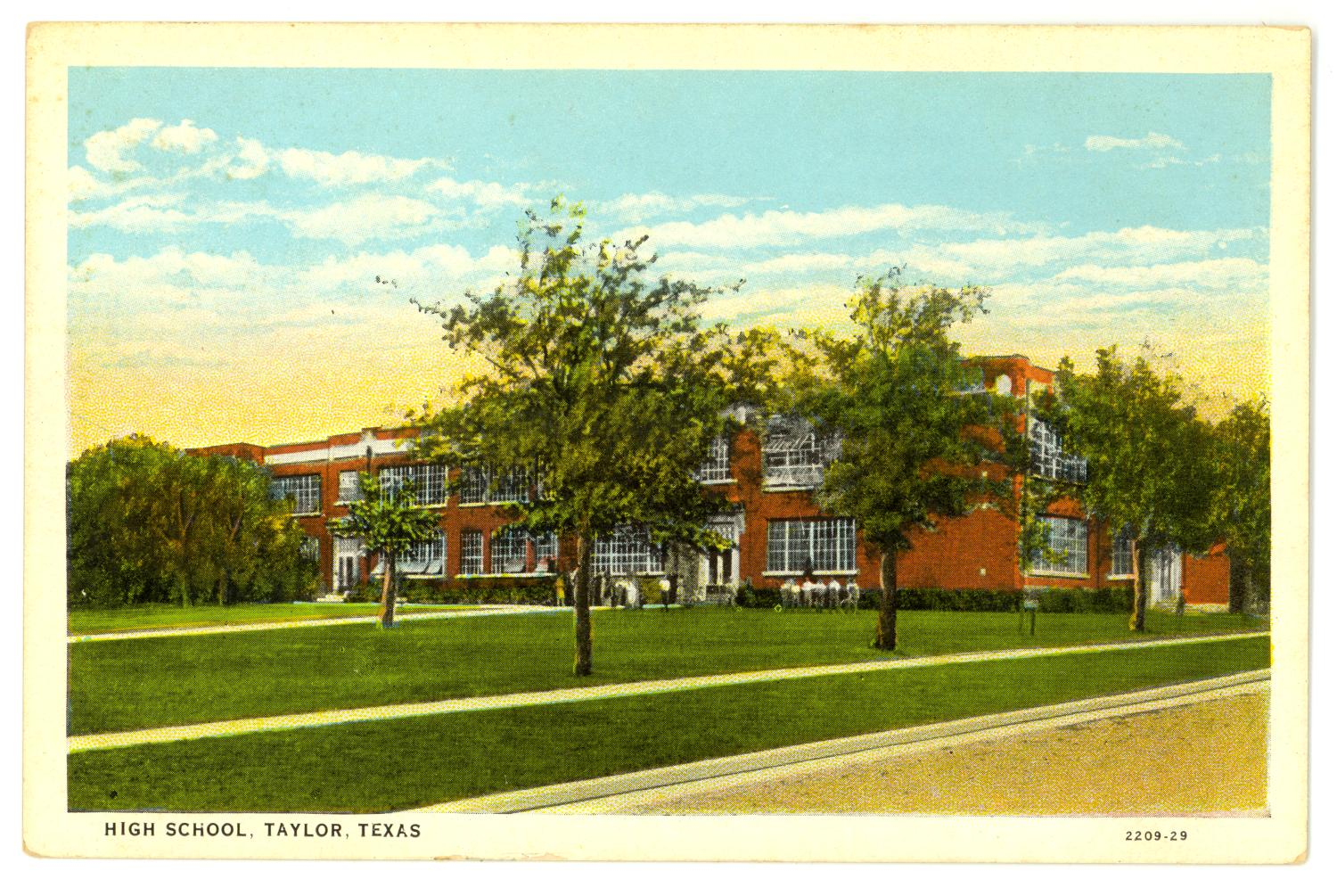 High School, Taylor, Texas                                                                                                      [Sequence #]: 1 of 2