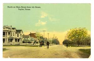 Primary view of object titled 'North On Main Street'.