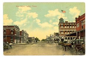 Primary view of object titled 'Main Street, Taylor, Texas'.