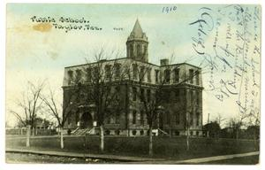 Primary view of object titled 'Public School, Taylor, Texas'.