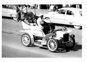 Primary view of object titled '1905 Cadillac in July 4th Parade'.