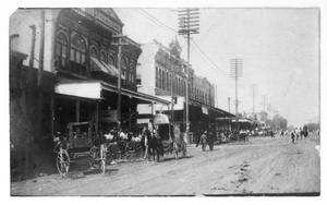 Primary view of object titled 'Traffic on Main Street'.