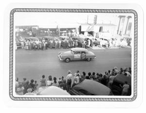 Primary view of object titled 'Car in the Taylor Rodeo Parade'.