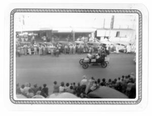 Primary view of object titled 'Old Car in the Taylor Rodeo Parade'.