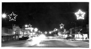 Primary view of object titled 'Christmas Lights in Thorndale'.