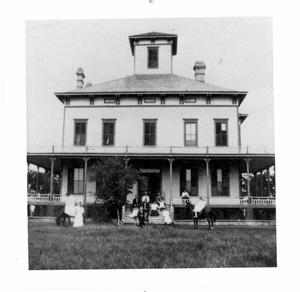 Primary view of object titled 'Hoxie Ranch House'.